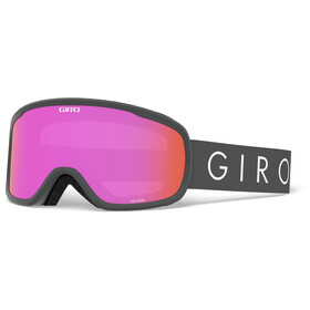Giro Moxi Gogle Kobiety, titanium core light/amber pink/yellow